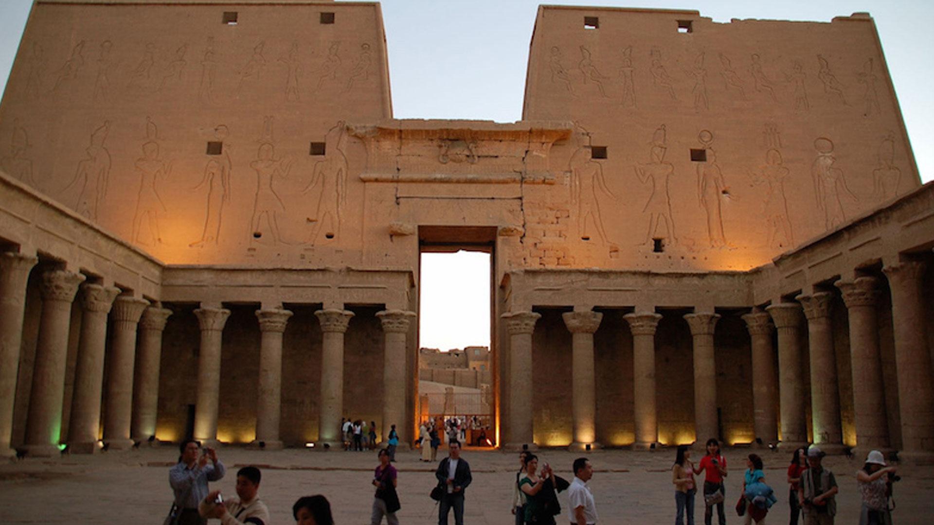 Egyptians-Temple