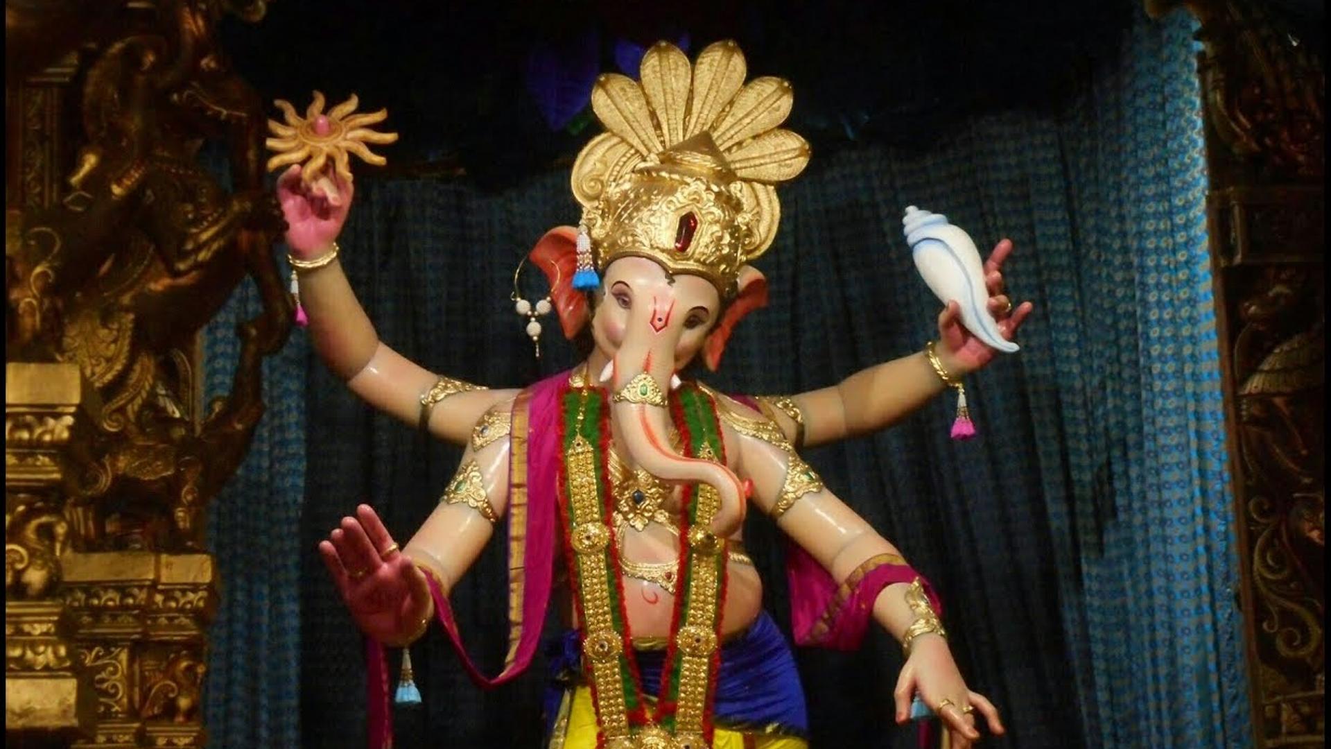 Ganesh Galli Mumbai Cha Raja